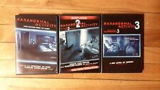 PARANORMAL ACTIVITY 1,2,3