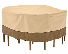 PyleSports Patio Table & Chair Set Cover Fits Round Table&2 Chairs to 54'' Dia.