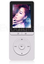 Nuevo Blanco X20 ruizu 8GB Sports Lossless MP3 reproductor de MP4 Video Musical FM Sintonizador