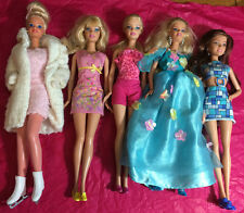 Mixed Lot of 5  Barbies: previously played with lot #C38