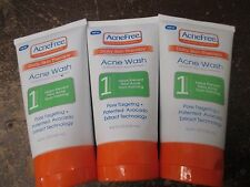 3 AcneFree DAILY SKIN THERAPY STEP 1 AM REFRESH ACNE WASH EXP:9/17 AA 2942