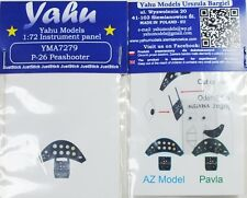 Yahu Models YMA7279 1/72 PE Boeing P-26A Peashooter Instrument Panel