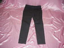 NWOT Lara Lane from Ruby Rd Stretch Charcoal Jean Style Pants 6 31 x 31