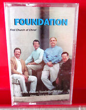 FIRST CHURCH OF CHRIST Foundation 1970s gospel cassette tape NEW Walk w/ Jesus