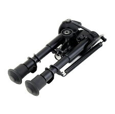 6''-9'' Bipod Fore Grip Shooter Mount TACTICAL Eject Rail Ridge Rock BE