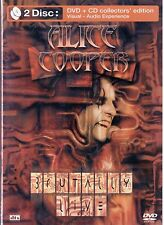 Alice Cooper Brutally Live (2 Disc Set) Dvd + Cd Collector's Edition Edel Italia