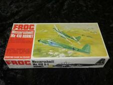 FROG Model Aircraft Kit F178 1/72 Scale Messerschmitt Me410 Unmade Red Box 1960s
