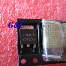 50PCS 78M05 IC REG LDO 5V .5A TO-252 NEW GOOD QUALITY