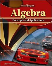 ALGEBRA CONC. and APPLIC: Algebra : Concepts and Applications by Jack Price,...