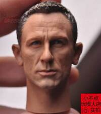 "custom 1/6 scale Daniel Craig Head Sculpt as James bond 007 For 12"" figure toy"