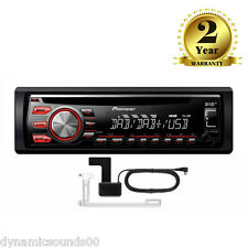 Pioneer DEH-4700DAB Car CD Stereo DAB Digital Radio USB Aux iPod iPhone + Aerial