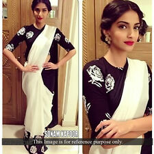 Saree Exclusive Beautiful Designer Bollywood Indian Saree  Party wear Sari 136