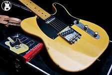 ✯RELIC✯ FENDER MIJ JV Squier Telecaster 1952 Reissue ✯Butterscotch Blonde✯1982✯