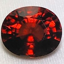Natural 21.59 Carat Hessonite Garnet Oval Huge Genuine Loose Gemstone Sri Lanka