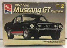 AMT 1967 FORD MUSTANG GT FASTBACK  MODEL KIT 1:25 SCALE