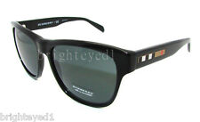 Authentic BURBERRY Black Wayfarer Sunglasses BE 4131 - 300187 *NEW*