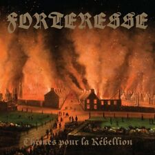 Forteresse - Themes pour la Rebellion CD 2016 black metal Canada Sepulchral