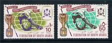 South Arabia 1966 World Cup Football SG 23/4 MNH