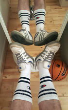 Champion Retro '80s White Tube Socks - Lads Basketball & Skater Socks - Rare!