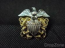 USN United States Navy Garrison / Side Cap Badge - NEW