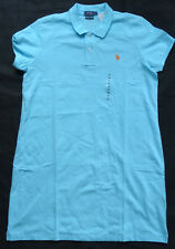 "POLO RALPH LAUREN Polokleid ""THE MESH MINI"" ""LUCY BLUE"" Gr XL"
