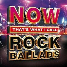 NOW THAT'S WHAT I CALL ROCK BALLADS - NEW CD COMPILATION
