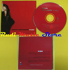 CD Singolo ALANIS MORISSETTE So pure CARD SLEEVE 1999 PROMO no lp mc dvd(S15)