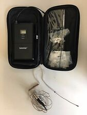 Countryman E6 (E6OW6CSL) Earset Mic and Shure SLX1 Body Pack Tranmitter