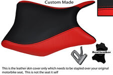 RED & BLACK CUSTOM FITS HONDA CBR 125 R 11-13 FRONT SEAT COVER