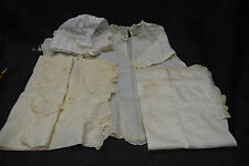 One Antique Christening Gown with Bonnet - 3 Other gowns and One Slip Cover (for