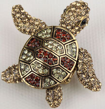 Turtle Stretch Ring Cute Animal Bling Scarf Jewelry Gift 6 Dropship gold
