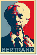 BERTRAND RUSSELL ART PHOTO PRINT (OBAMA HOPE) POSTER GIFT