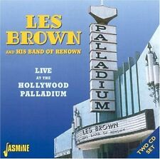 LES BROWN - LIVE AT THE HOLLYWOOD PALLADIUM 2 CD NEU
