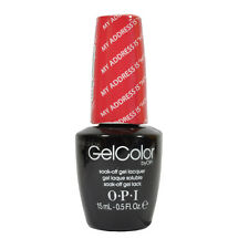 Opi Soak Off Gelcolor Polish Lacquer GC T31 My Address is Hollywood 0.5oz