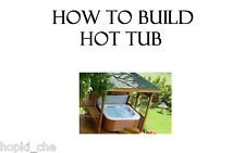 BUILD  SPA POOL NEW HOT TUB BATH JACUZZI X 6 AND DECKING CHAIR SPAS