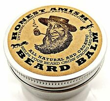 Beard Balm Leave-In Conditioner - All Natural & Organic Oils by Honest Amish