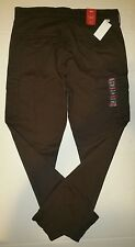 Levi's Banded Cargo Tapered Slim Fit Colored Khaki Pants Men Size 34 x 34 Brown