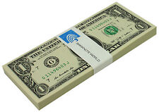FULL  BUNDLE $1-Sequentially numbered*100 X1 DOLLAR  BILLS  USA NOTE CURRENCY