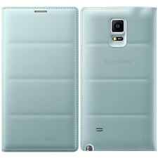 Genuine Samsung FLIP CASE GALAXY NOTE 4 SM N910 F T Smart Phone copertura originale
