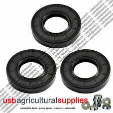 3x NEW DECK BEARING HOUSING OIL SEALS COUNTAX WESTWOOD TRACTOR MOWERS - NEXT DAY