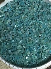 1lb Wholesale Neon Blue Apatite Gem Smaller Crystals