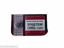 seizaiken silver oxide 395 SR927SW (SWATCH WATCH BATTERY 9.5X3.6 1.55V)