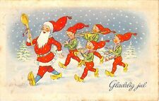 BG8483 gladeling jul dwarf  glaedeling jul christmas greetings denmark