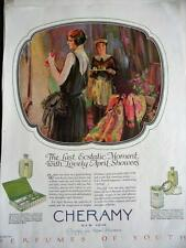 DECEMBER, 1926 MAGAZINE PAGE #S454- CHERAMY NEW YORK, PERFUMES OF YOUTH,
