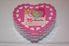 NEW 35 Heart Valentine's Sheet Kids Craft Teacher Art Foam FREE SHIPPING!    BCR