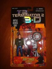 TERMINATOR 2  3-D JOHN CONNOR WITH MOTORCYCLE N.O.C.