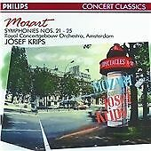 Mozart: Symphonies Nos. 21 - 25 (1990)•Record Label: Philips