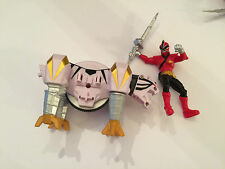 Power Rangers super samurai zord and figure play set white tiger