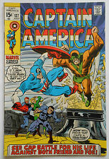 CAPTAIN AMERICA #127 - JUL 1970 - NICK FURY APPEARANCE! - VFN+ (8.5) CENTS COPY