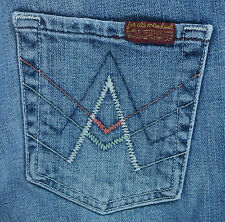 "Women's Seven For All Mankind ""A Pocket"" Boot Cut Jeans Sz 26 Hemmed to 27"""
